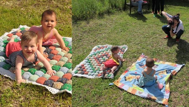 צילומי קטלוג מותק קיץ 2012, עלמה ושיילו המהממת, עלמיק בת 7 חודשים