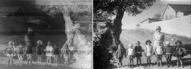 ילדים במטולה / שמואל יוסף שוייג, 1934