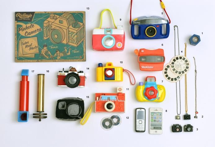 אוסף המצלמות שלי גלית לוינסקי