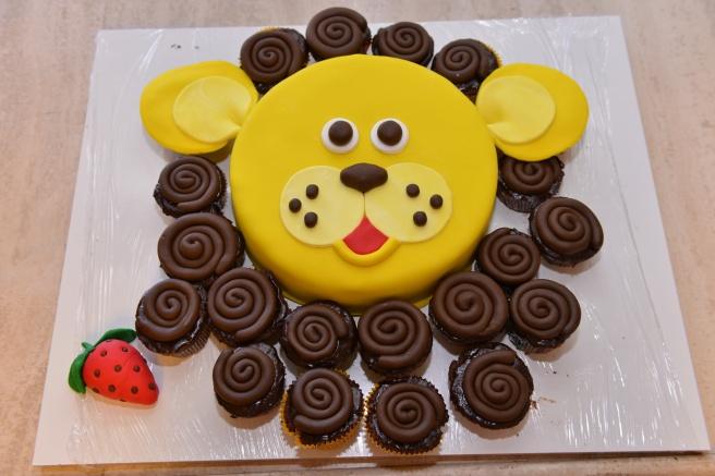 עוגת אריה
