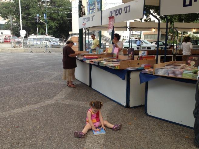 שבוע הספר בכיכר אורדע 2013