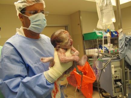 הלידה של עלמה