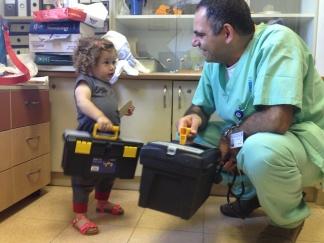 ביקור בתורנות פגייה בבית חולים