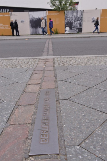 כאן עברה חומת ברלין