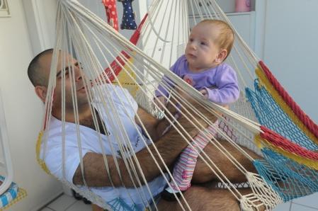 רם ועלמה בת חודשיים וחצי