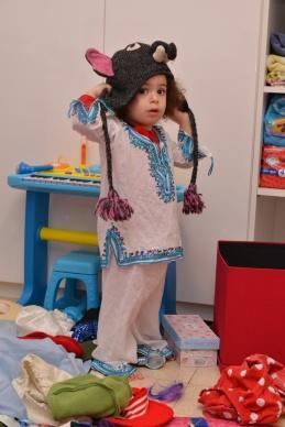 יווניה עם כובע מארגנטינה
