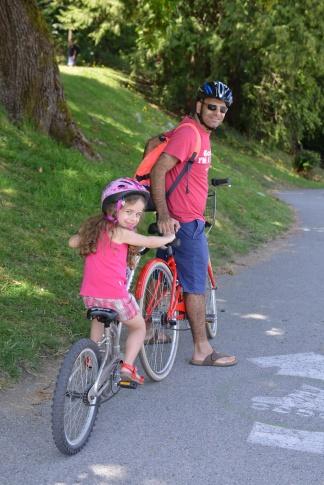 רוכבים בסטנלי פארק