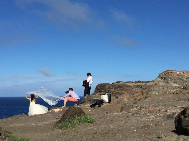 צילומי זוג בהוואי