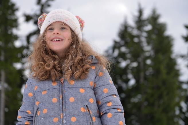 מחליקים על השלג על הר סימור