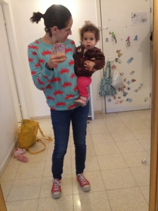תמר בת כעשרה חודשים