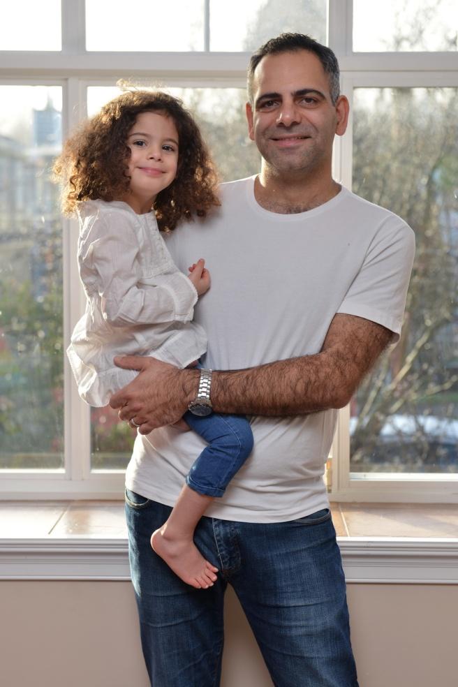 אבא ובת גלית לוינסקי