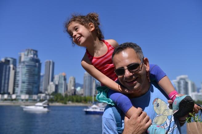 ילדה ואבא צילום גלית לוינסקי