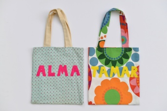 DIY tote bag Galit Lewinski