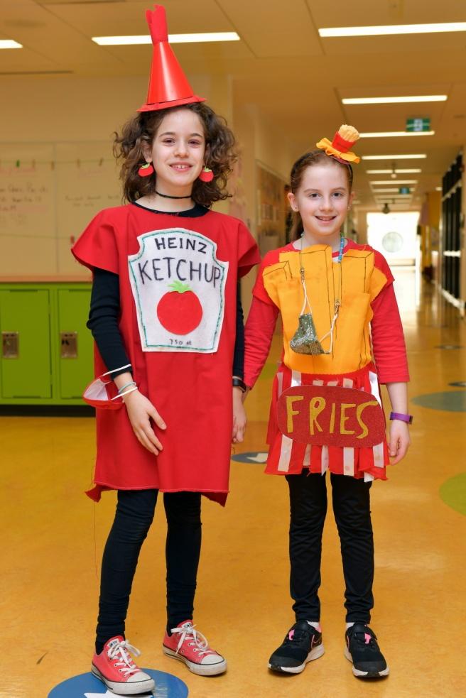 Ketchup and Fries גלית לוינסקי