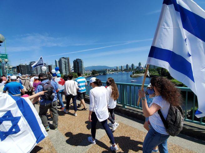 צעדת תמיכה בישראל גלית לוינסקי